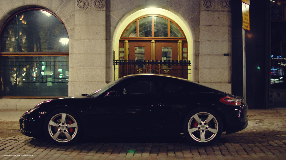 Porsche Cayman S by ShadowPhotography