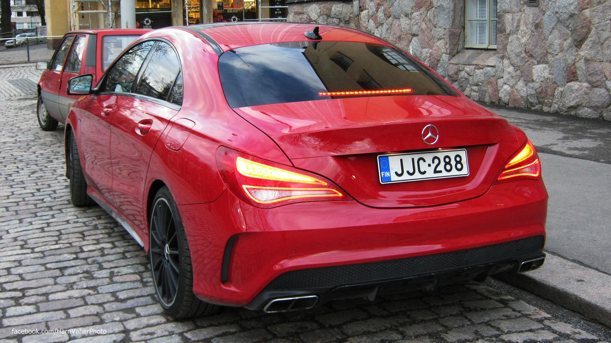 Mercedes-Benz CLA45 AMG by ShadowPhotography