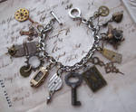 Steampunk Jewelry Bracelet