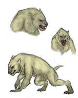 Werewolf concept by FlobbyBobby