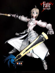 PAPERCRAFT - FATE STAY NIGHT - SABER LILY by Lestat-Pendragon