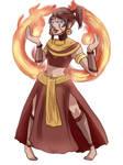 Sun Warrior Karma - Commission