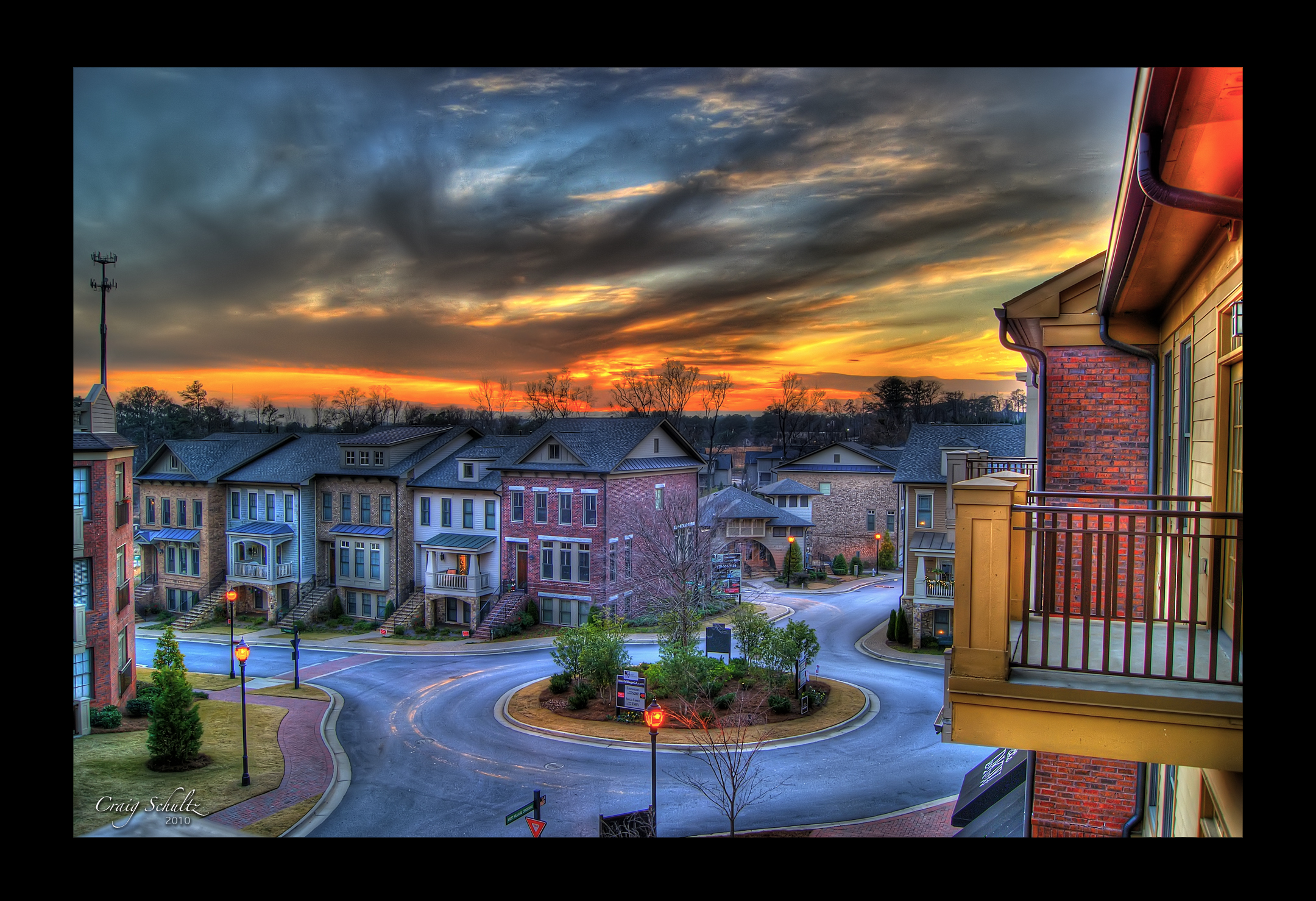 West Village, Atlanta HDR by dx