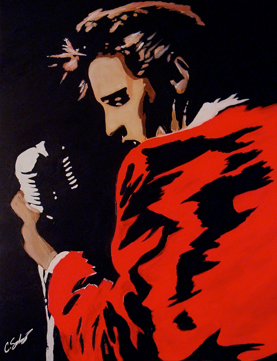 Elvis Presley by dx