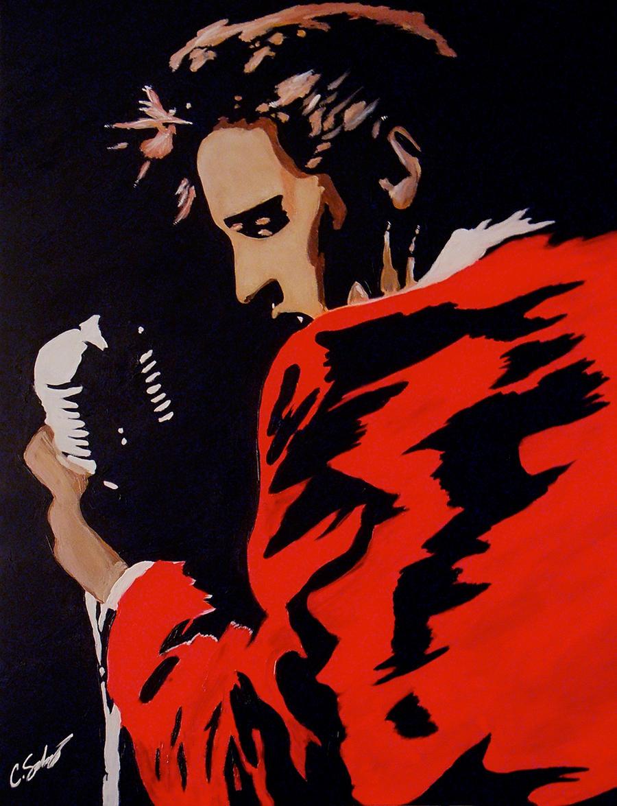 Elvis Presley by dx