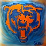 Chicago Bears airbrush