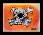 Airbrush Skull II