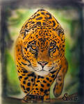 Jaguar airbrush