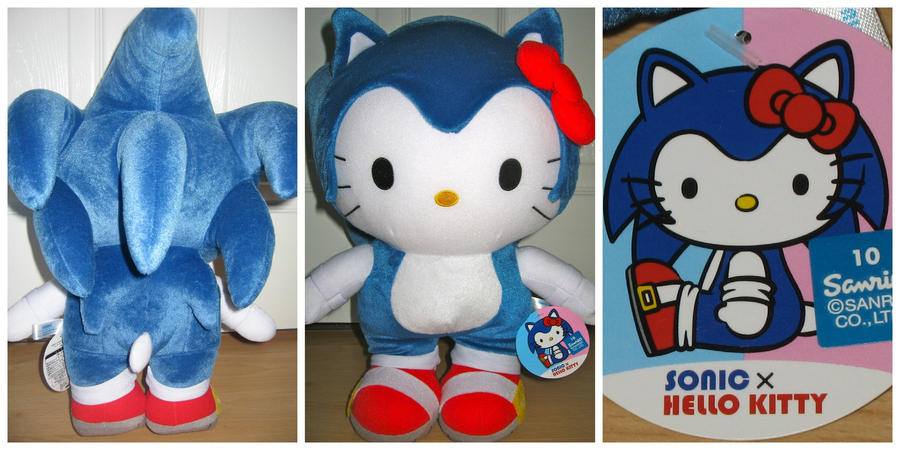Hello Kitty Sonic Plush by MizukiiMoon
