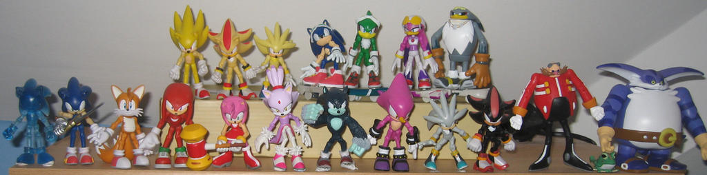 3 Inch Jazzware Sonic Figure Collection by MizukiiMoon
