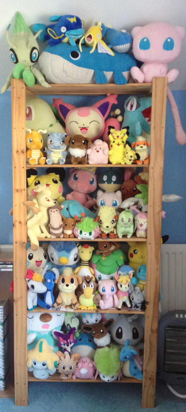 My Updated Pokemon Collection by MizukiiMoon