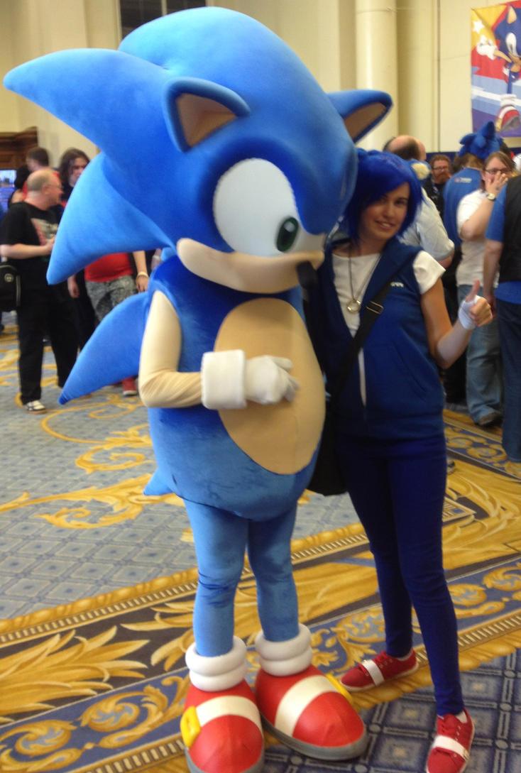 Me and Sonic Summer of Sonic 2013 by MizukiiMoon