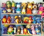 Updated Taiwan Mirage Pokemon Plush Collection