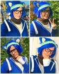 Hipster Sonic Cosplay by MizukiiMoon