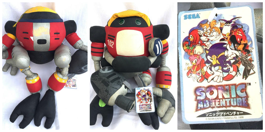 Sonic Adventure E-102 Gamma Plush by MizukiiMoon on DeviantArt