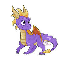 Spyro The Dragon by MinueCharm