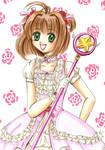 Pink Lacey Sakura