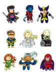 X-Men Chibi Set
