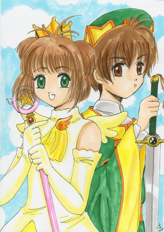sakura and syaoran - photo #29
