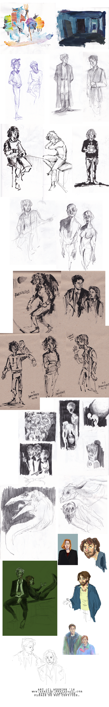 Sketchdump 004 by Averinn