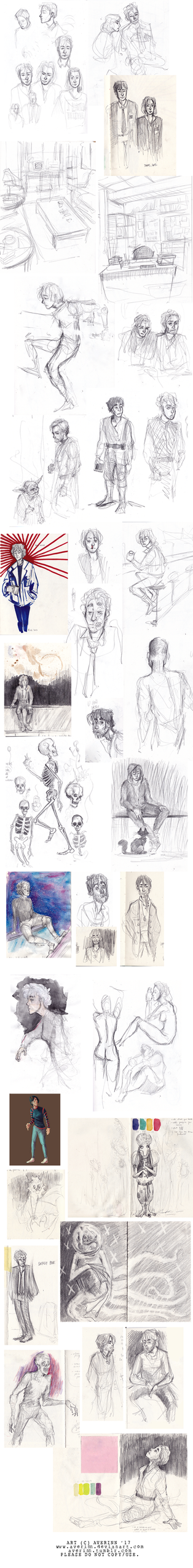 Sketchdump 005 by Averinn