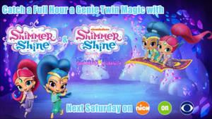 Shimmer and Shine Magic Hour on Nick on CBS