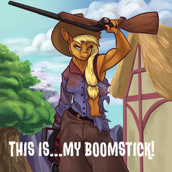 COMMISSION: This is ... my boomstick by xxxMakixxx