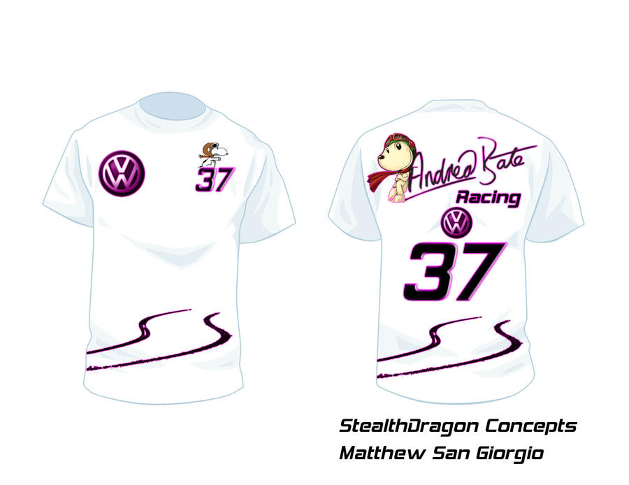 andrea bate racing t shirt design by matkeevog on deviantart