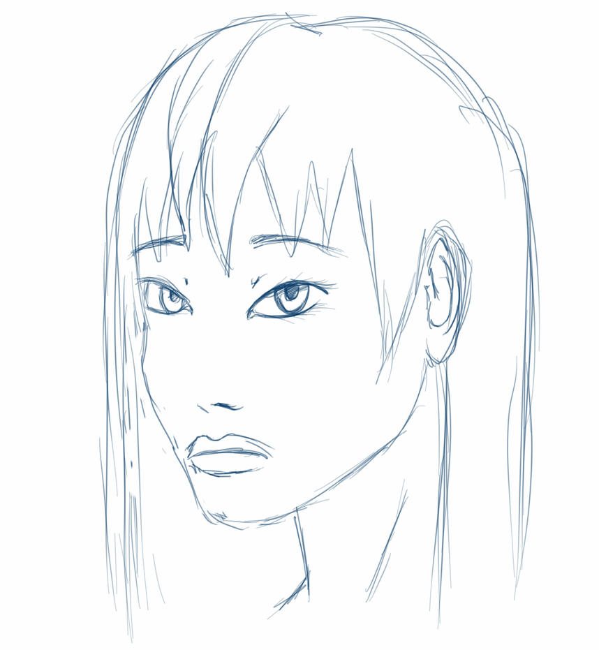 face sketch by Pharion