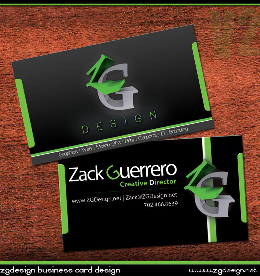 Personal Business Cards by as3k
