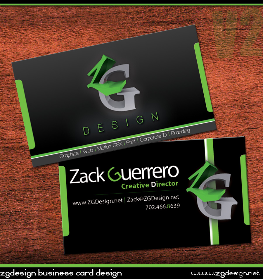 Personal Business Cards by as3k on DeviantArt