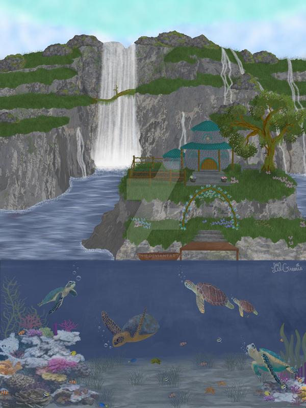 Turtle Cove by Lil-Greenie