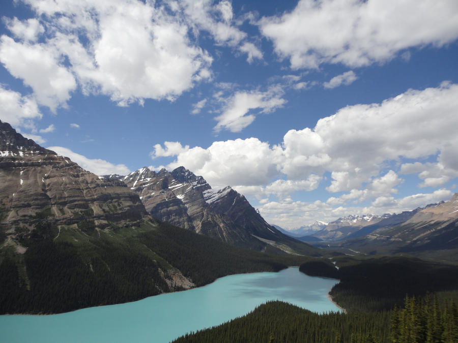 Peyto Lake, Canada by vchen92