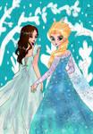 Elsa and Marsha Milan