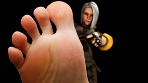 Overwatch - Ashe's foot worship