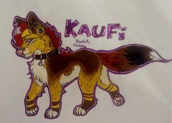 Kaufi (Art Trade with dynastipup) by JadeArcticWolf