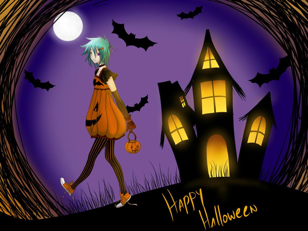Yuu  Happy Halloween by Kaoru-Niwa