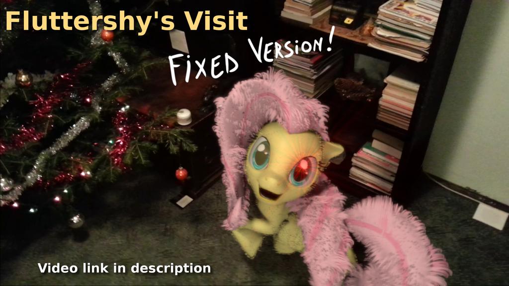 [video] Fluttershy Visit: Fixed Version! by MirceaKitsune