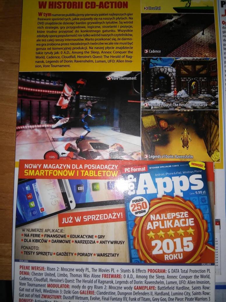 Vore Tournament featured in Polish magazine by MirceaKitsune