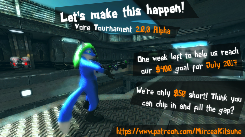 Vore Tournament 2.0.0 - One week left for July! by MirceaKitsune
