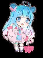 OC- Kara- blue by Kara-furu