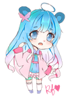 OC- Kara- blue