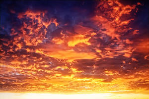Sky on Fire by TPextonPhotography