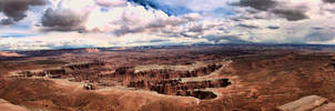 Valley Panorama by TPextonPhotography