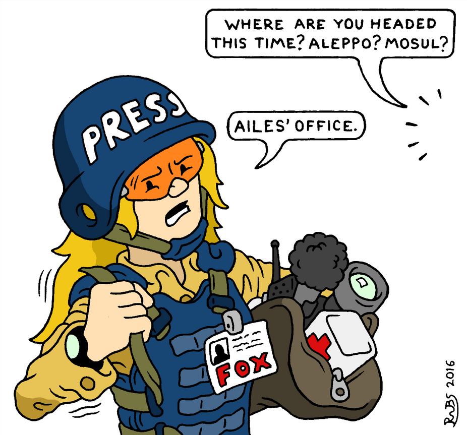 War Correspondent by RednBlackSalamander