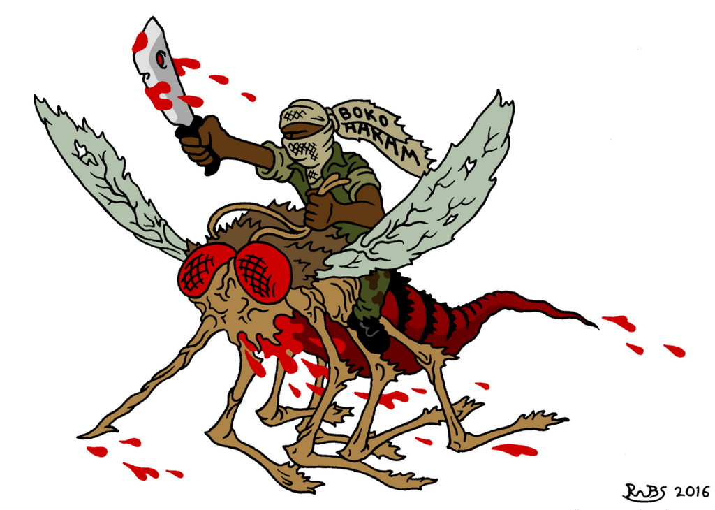 Bloodsuckers by RednBlackSalamander