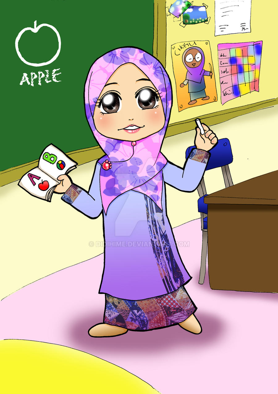 Image result for teacher muslimah