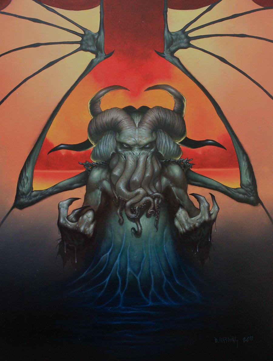 Cthulhu Rising by Dan-Harding
