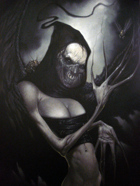 La Bella Morte Nera by Dan-Harding
