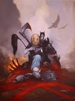 Death is a Messy Bizness by Dan-Harding